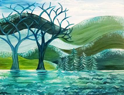 A Wintergreen paint nite project by Yaymaker