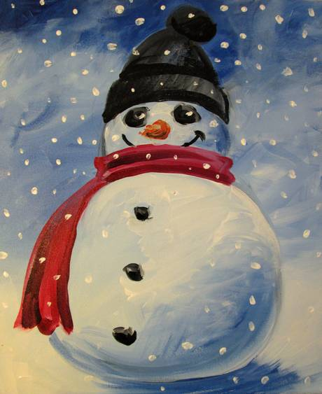 A Cold and Happy paint nite project by Yaymaker
