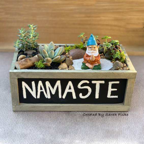 A Namaste Gnome Garden experience project by Yaymaker