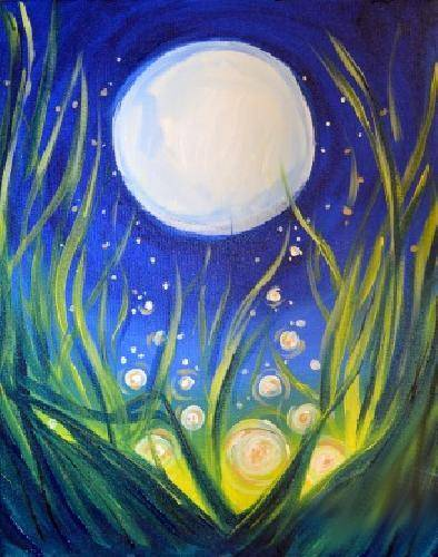 A Moonlight Magic paint nite project by Yaymaker