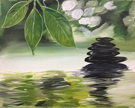A Now and Zen paint nite project by Yaymaker