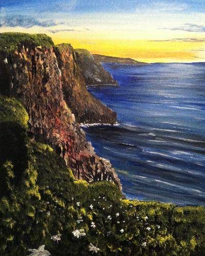 A Ireland paint nite project by Yaymaker
