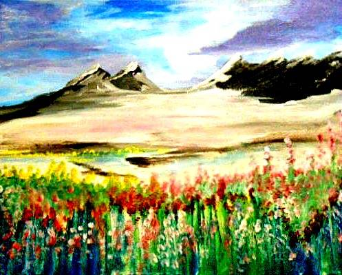 A Coming of Spring paint nite project by Yaymaker