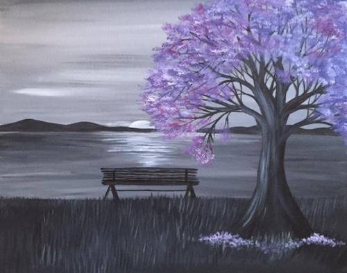 A Rise and Shine paint nite project by Yaymaker