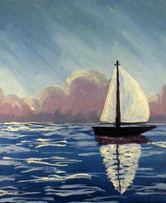 A Sailboat 3 paint nite project by Yaymaker
