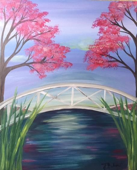 A Under the Bridge paint nite project by Yaymaker