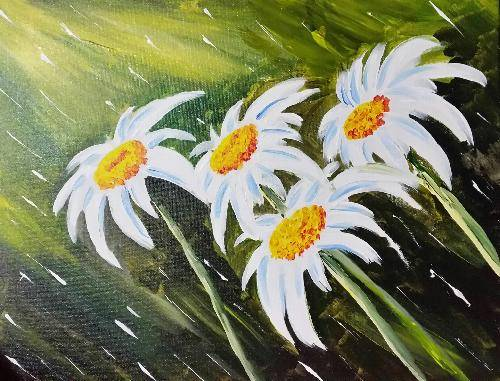 A Spring Flowers 1 paint nite project by Yaymaker