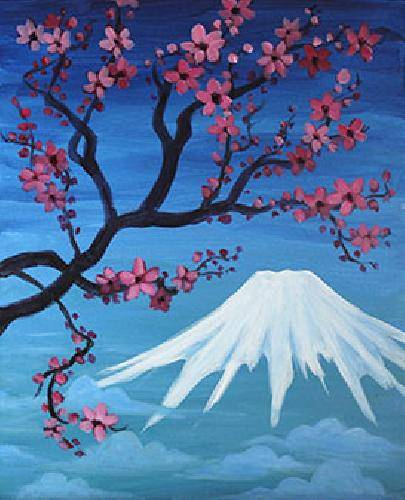 A Fuji paint nite project by Yaymaker