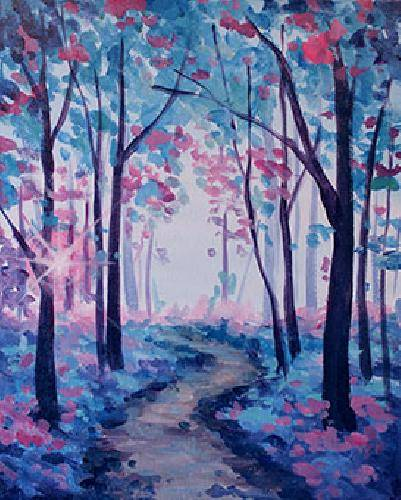 A Spring Mood paint nite project by Yaymaker