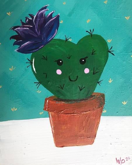 A I Heart Cactus experience project by Yaymaker
