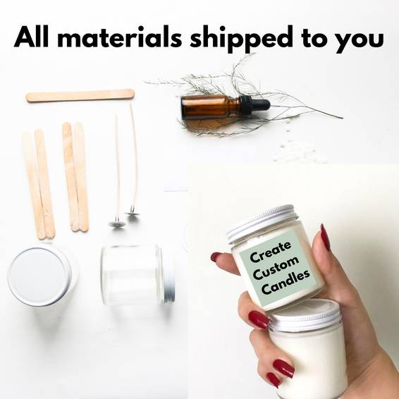 A Virtual Soy Candle Making  All Materials New experience project by Yaymaker