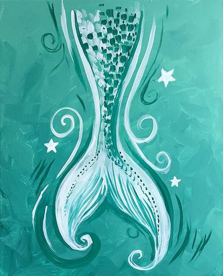 A Teal Mermaid Tail experience project by Yaymaker