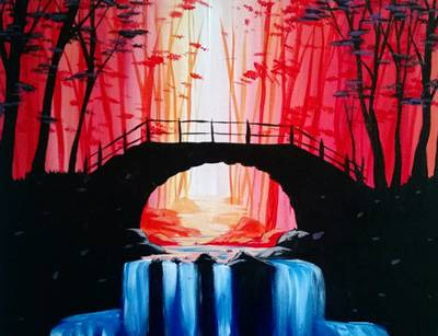 A Down Stream paint nite project by Yaymaker