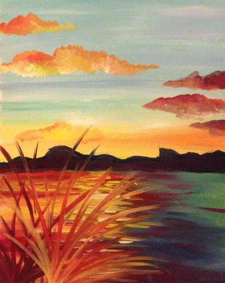 A Reflection paint nite project by Yaymaker