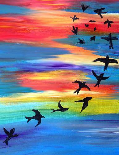 A Everlasting Love paint nite project by Yaymaker