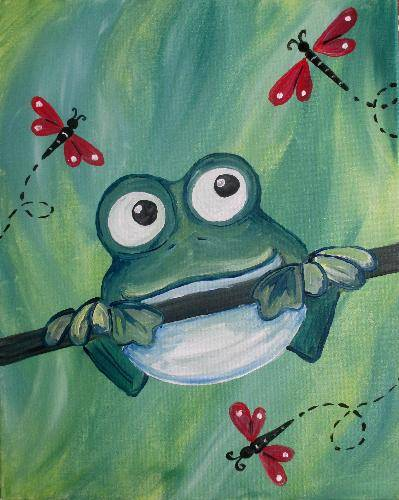 A Ribbit paint nite project by Yaymaker