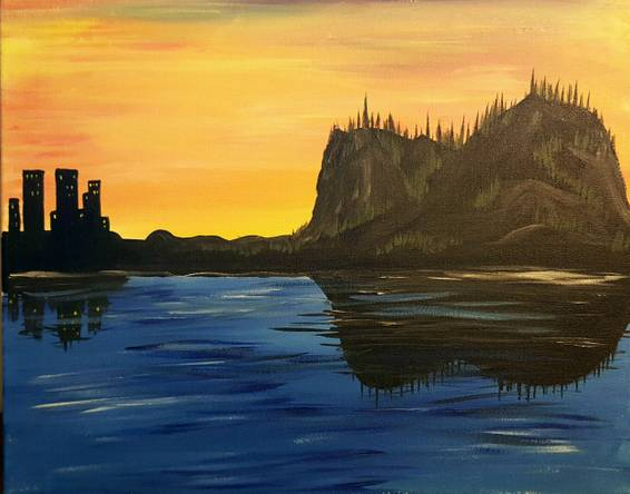 A Acoustic Horizon paint nite project by Yaymaker