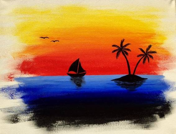 A Dreaming paint nite project by Yaymaker