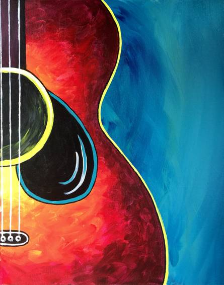 A Acoustic Sonata paint nite project by Yaymaker