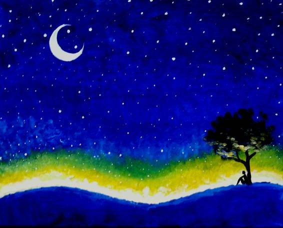 A Midsummer Nights Dream paint nite project by Yaymaker