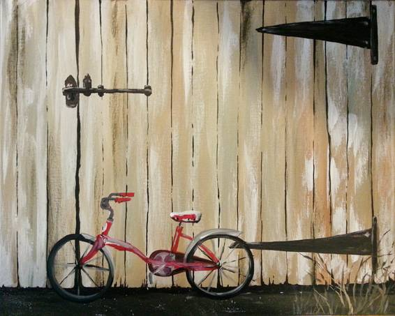 A Need A Ride paint nite project by Yaymaker