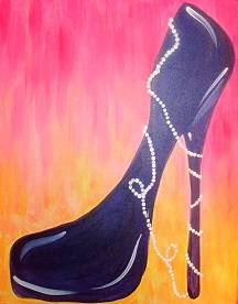 A Pearlz N Pump paint nite project by Yaymaker