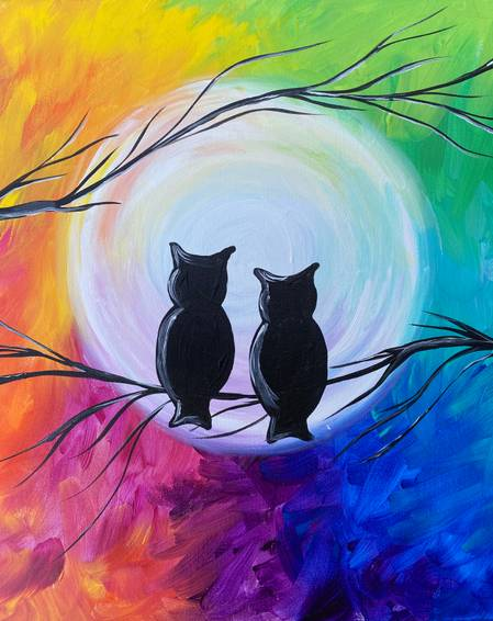 A Owls under the Rainbow Sky experience project by Yaymaker