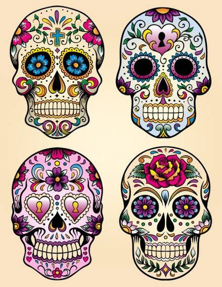 A Dia De Los Muertos Drawing Candy Skulls experience project by Yaymaker