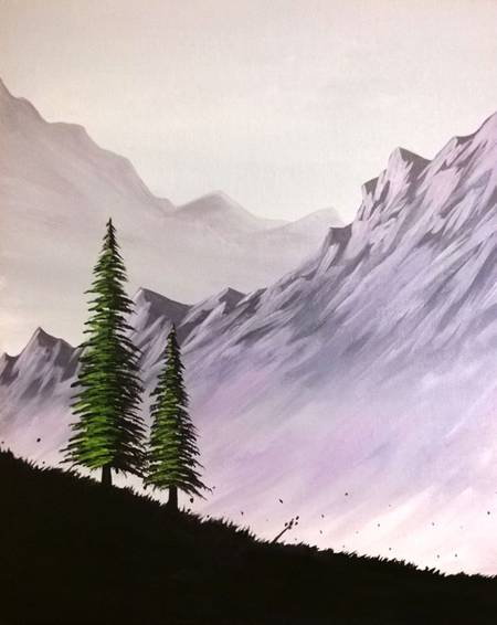 A Alone Together paint nite project by Yaymaker