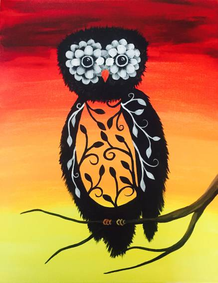 A Owlfred paint nite project by Yaymaker