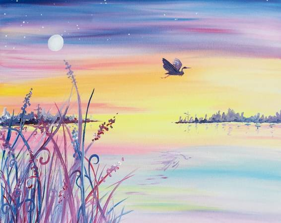 A Take Flight paint nite project by Yaymaker