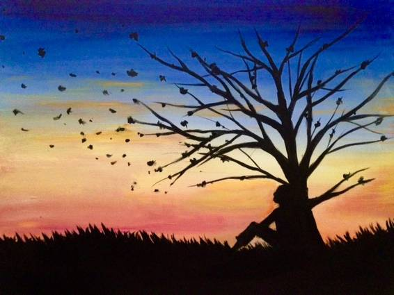 A Last Leaves paint nite project by Yaymaker