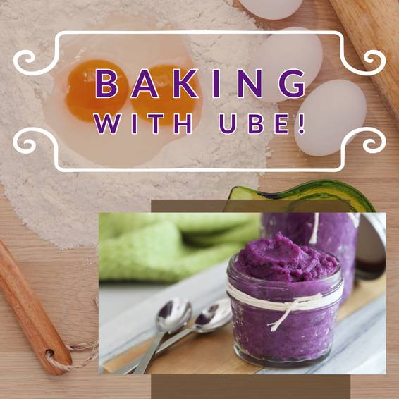 A Therapeutic Baking Ube experience project by Yaymaker