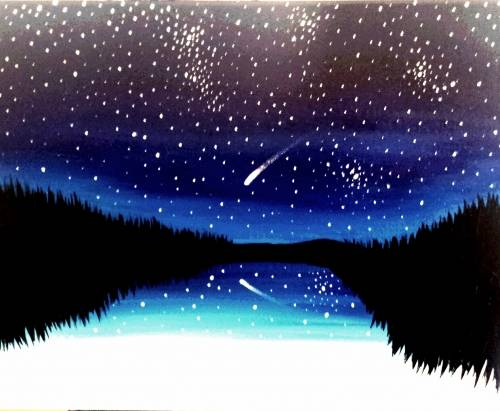 A Shooting Star 2 paint nite project by Yaymaker