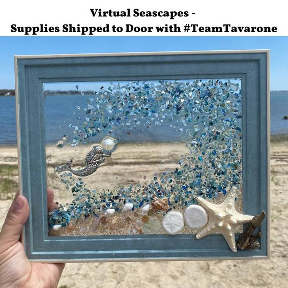 A Virtual Seascapes Wave Splash with TeamTavarone experience project by Yaymaker