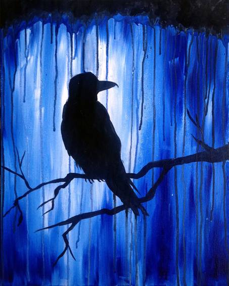 A Nevermore paint nite project by Yaymaker