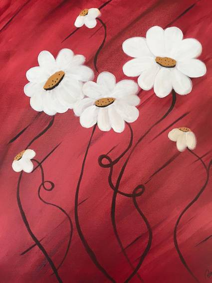 A Dizzy Daisy paint nite project by Yaymaker