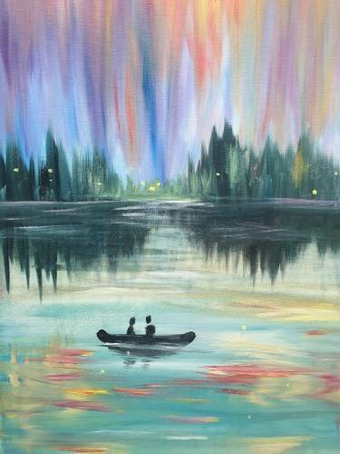 A Lights on the Lake paint nite project by Yaymaker