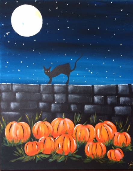 A Catwalk paint nite project by Yaymaker