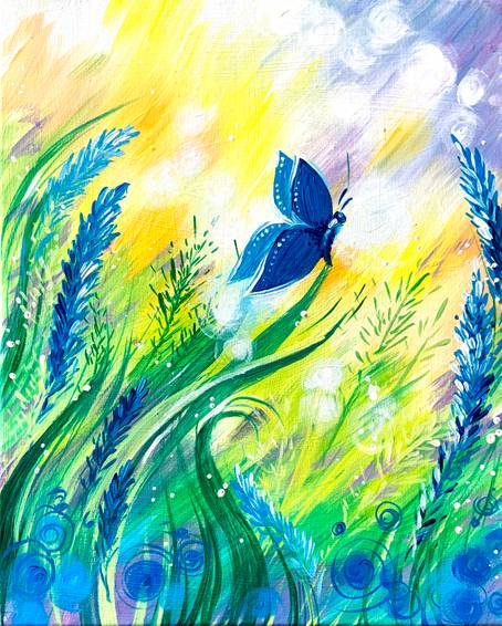 A Blue Morning Butterfly experience project by Yaymaker