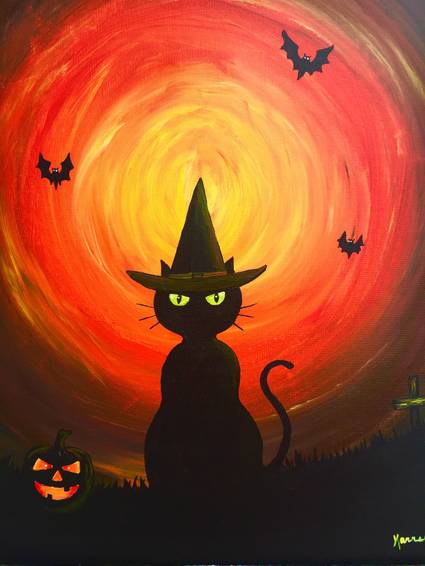 A BOO paint nite project by Yaymaker