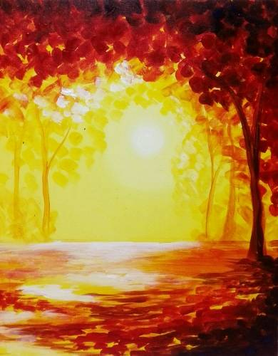 A Indian Summer II paint nite project by Yaymaker
