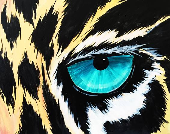 A The Roar paint nite project by Yaymaker