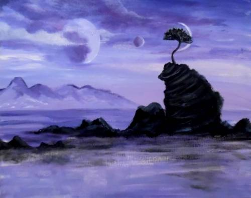 A Fantastic Planet paint nite project by Yaymaker