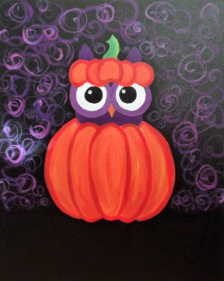 A Hocus Pocus paint nite project by Yaymaker