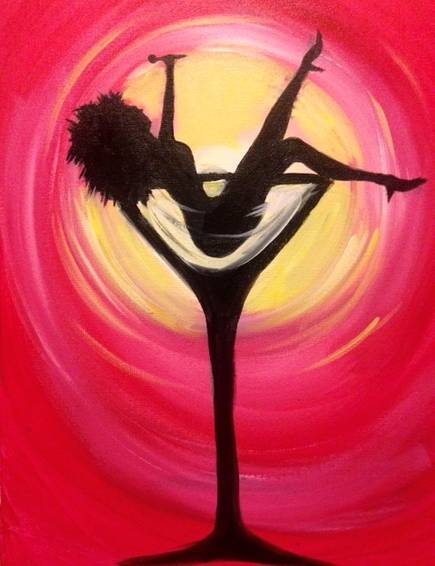 A Tipsy Tina paint nite project by Yaymaker