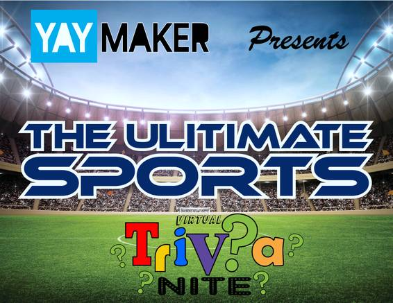 A Yaymaker VIRTUAL EVENT  Ultimate Sports Trivia experience project by Yaymaker