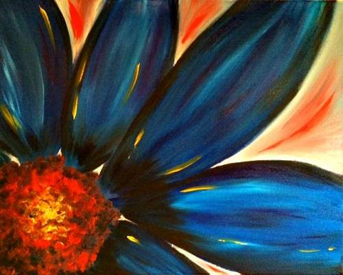 A Harvest Petals paint nite project by Yaymaker