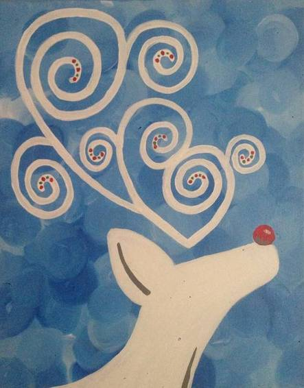 A Deer 2 paint nite project by Yaymaker