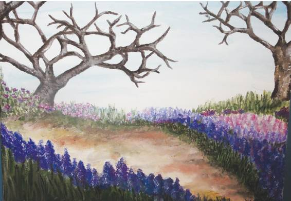 A Lilac Road paint nite project by Yaymaker